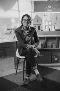 Faculty member Alyson Beaton, Lille Huset kickstarter project