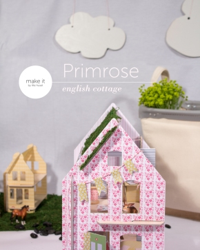 dollhouse diy-lille huset sod roof
