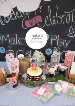 diy dollhouse birthday party
