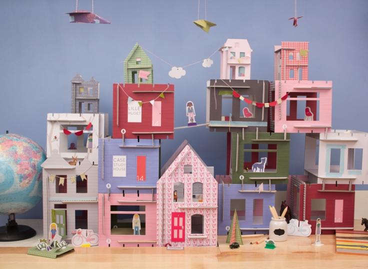 lille huset dollhouse village