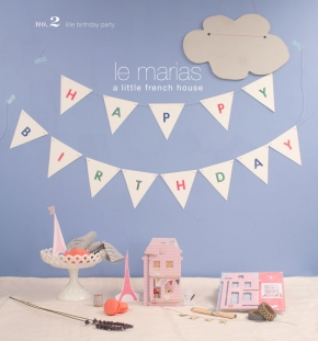 french dollhouse birthday party