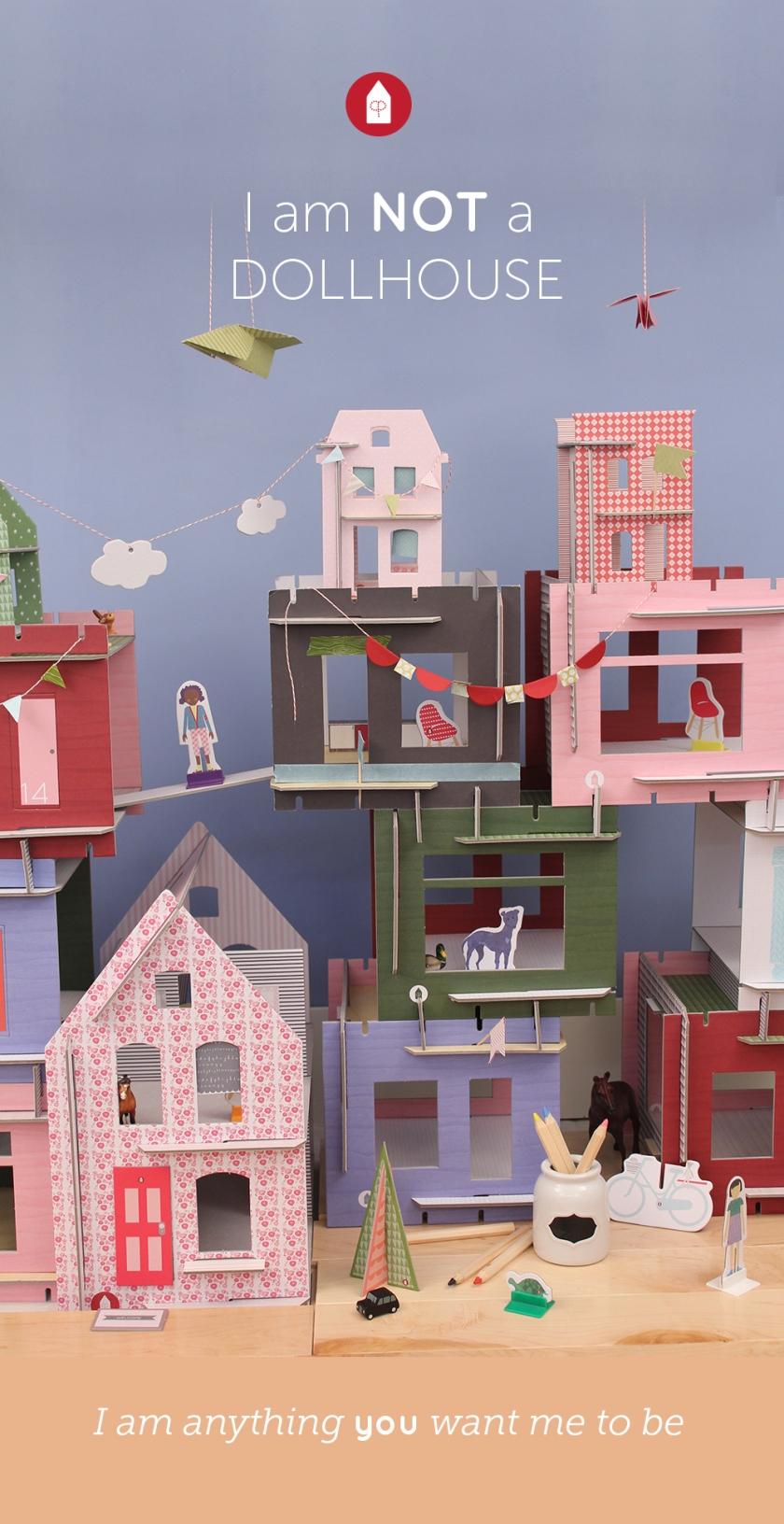 dollhouse village activity