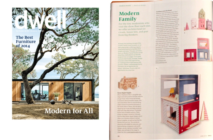 lille huset dollhouses in dwell magazine
