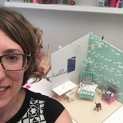 take a selfie with your awesome room and @lillehuset